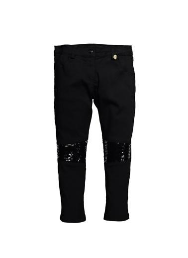 Zeyland Dizleri Pullu Koton Pantolon (5-8yaş) Dizleri Pullu Koton Pantolon (5-8yaş) Siyah
